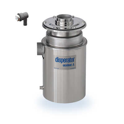 food waste disposer 500a bs excellent series bas with spyldosa disperator