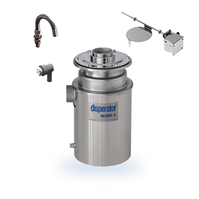 food waste disposer 500a bs-k excellent series montage disperator